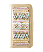GYPSET BEADS LAVENDER×MINT NOTE TYPE iPhone6plus